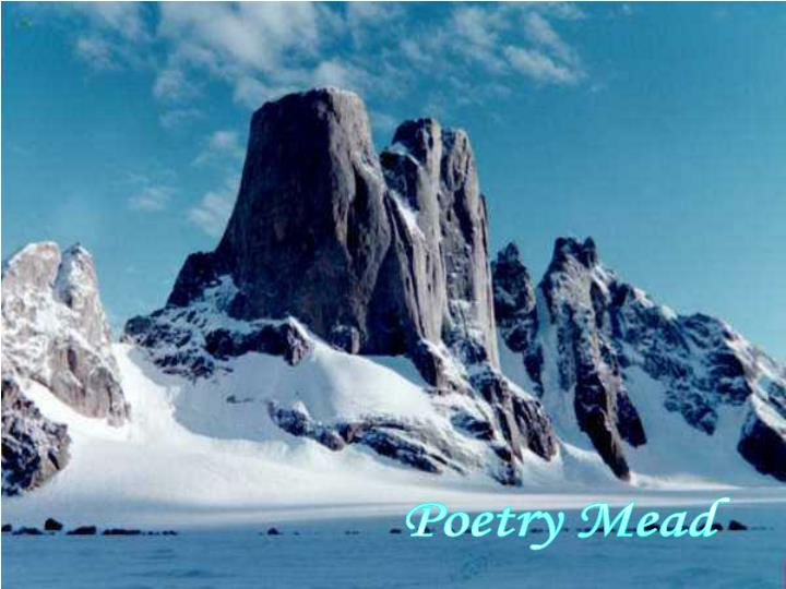 Poetry Mead