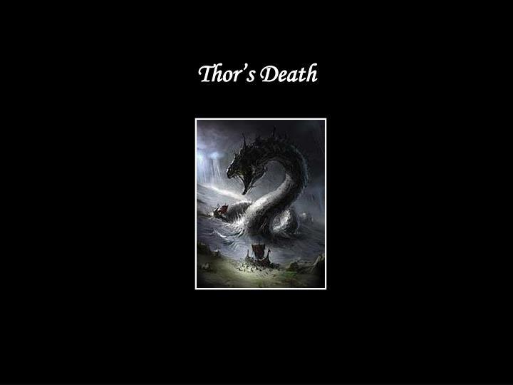 Thor's Death