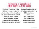 tomasulo v scoreboard ibm 360 91 v cdc 6600