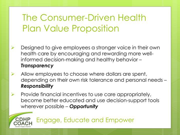 The Consumer-Driven Health