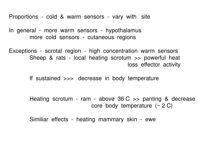 Proportions  -  cold  &  warm  sensors  -  vary  with   site