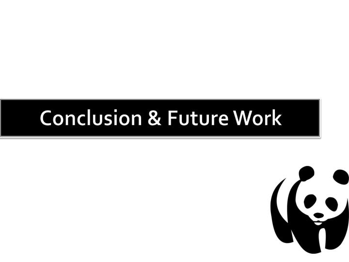 Conclusion & Future Work