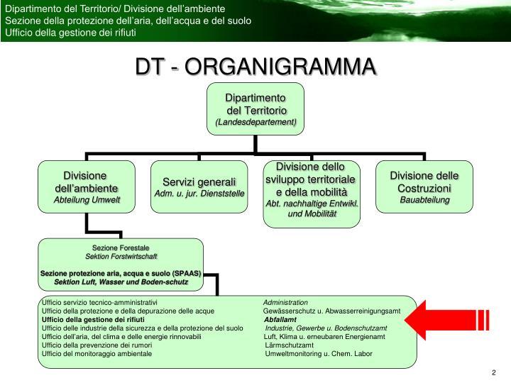 DT - ORGANIGRAMMA