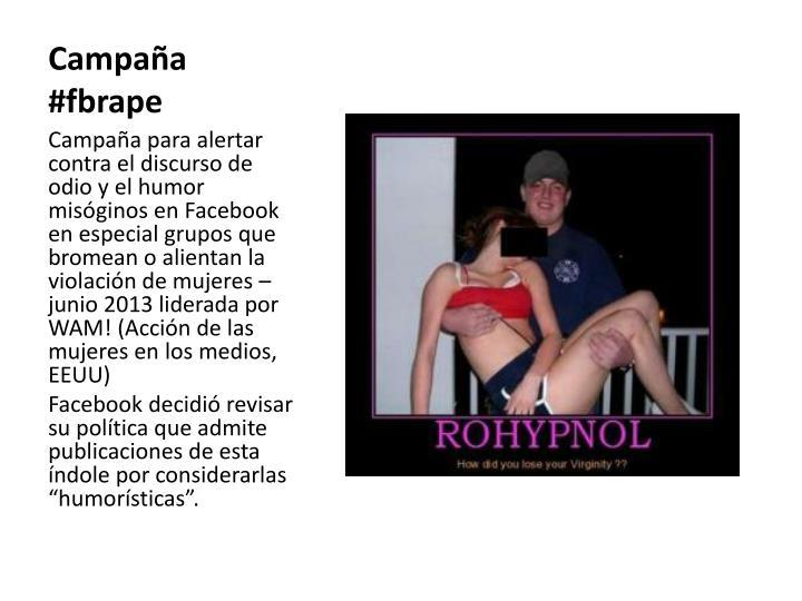 Campaña #fbrape