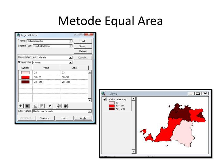 Metode Equal Area