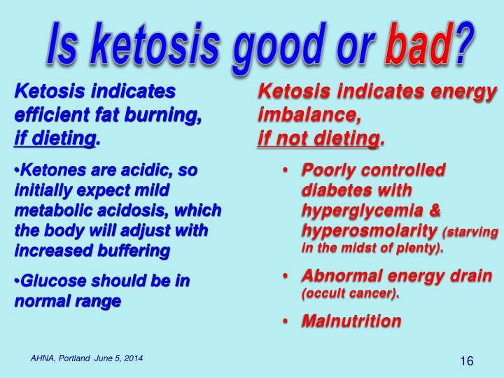 Is ketosis good or