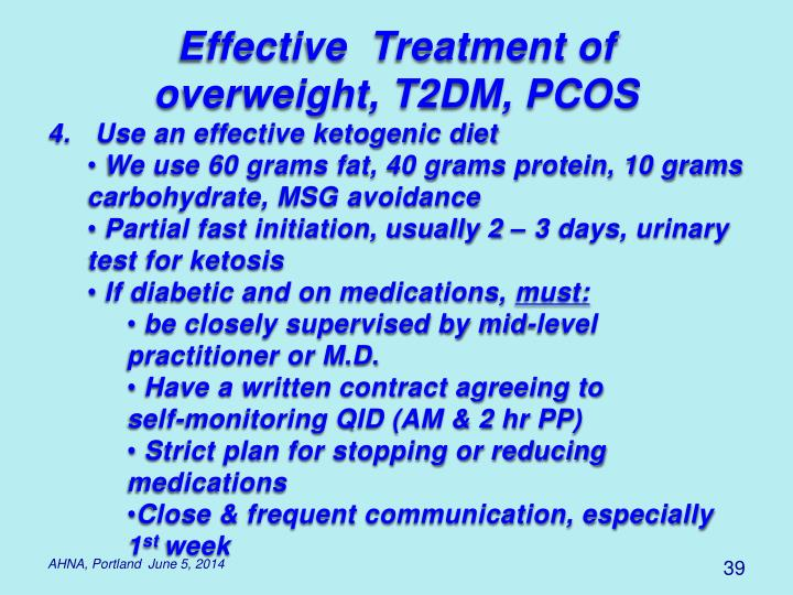 Effective  Treatment of