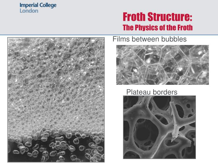 Froth Structure:
