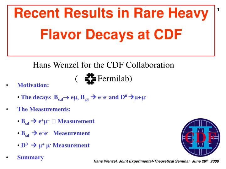 Recent results in rare heavy flavor decays at cdf