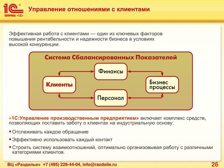 Управление отношениями с клиентами