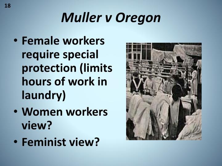 Muller v Oregon