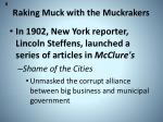 raking muck with the muckrakers1