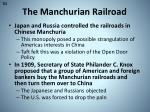 the manchurian railroad