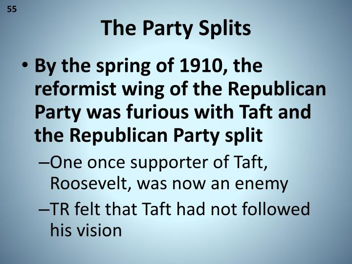 The Party Splits
