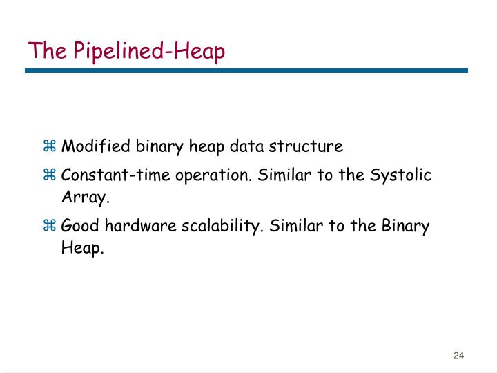 The Pipelined-Heap