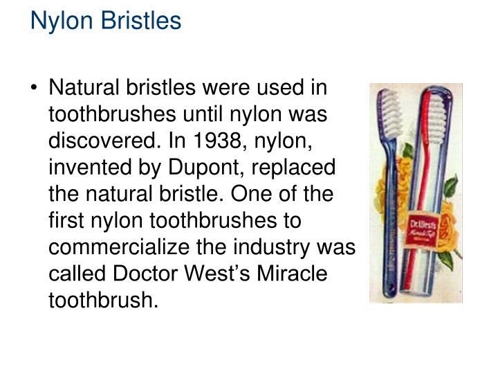 Nylon Bristles
