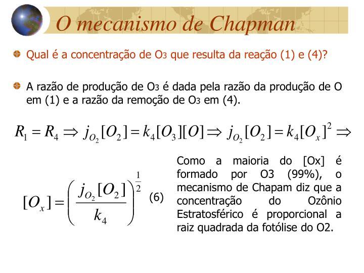 O mecanismo de Chapman