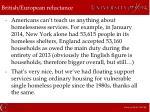 british european reluctance