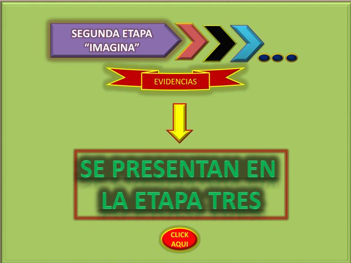 "SEGUNDA ETAPA ""IMAGINA"""