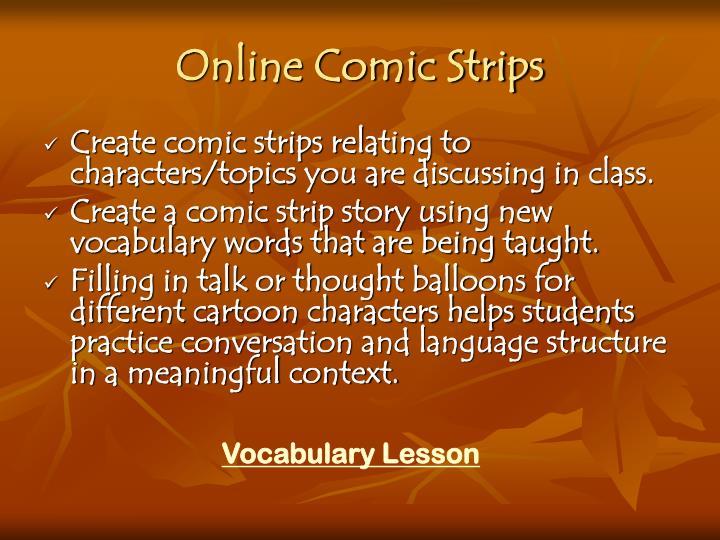 Online Comic Strips