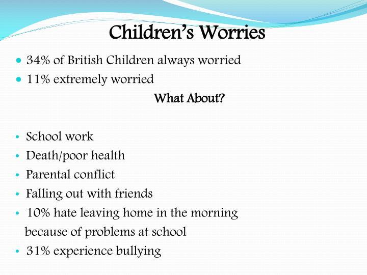 Children's Worries