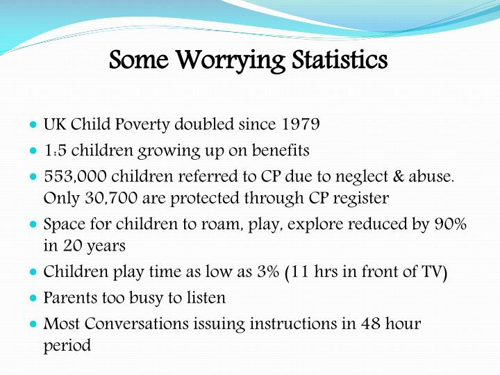 Some Worrying Statistics