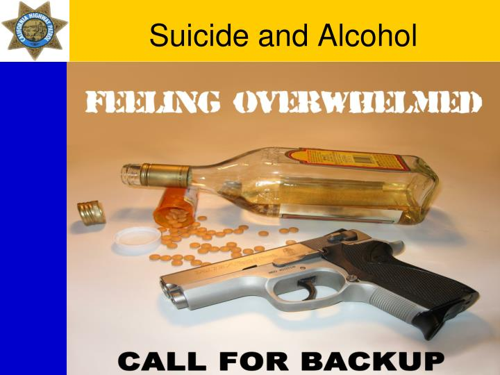 Suicide and Alcohol