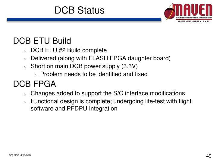 DCB Status