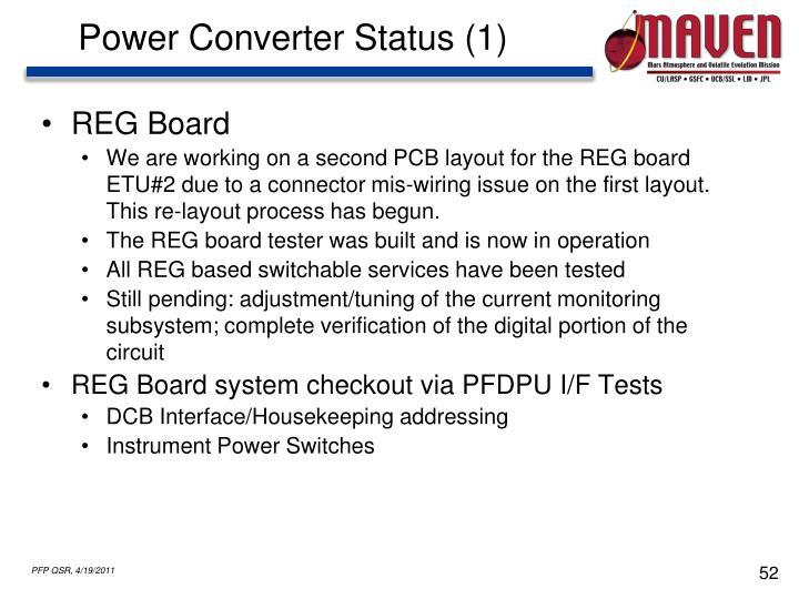 Power Converter Status (1)