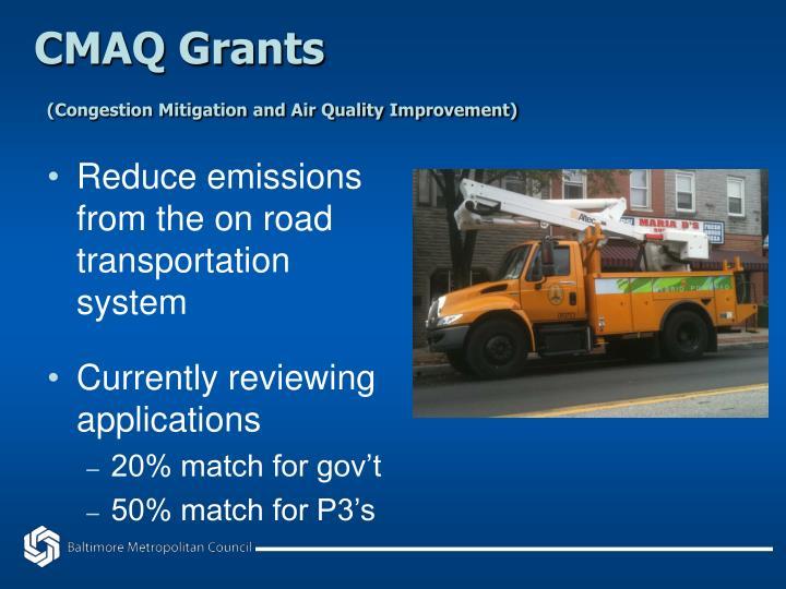 CMAQ Grants