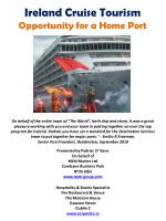 ireland cruise tourism opportunity for a home port2