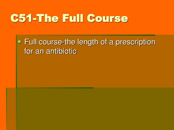 C51-The Full Course