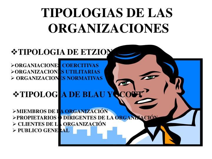 TIPOLOGIAS DE LAS