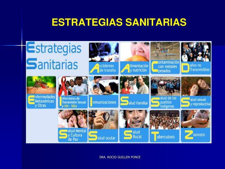 ESTRATEGIAS SANITARIAS