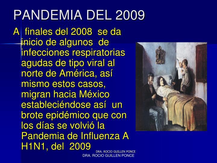 PANDEMIA DEL 2009