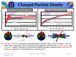 charged particle density