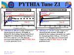 pythia tune z12