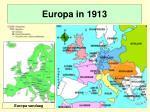 europa in 1913