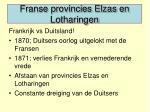 franse provincies elzas en lotharingen