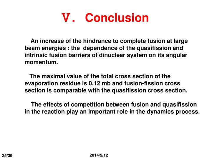 Ⅴ.   Conclusion