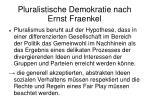 pluralistische demokratie nach ernst fraenkel2
