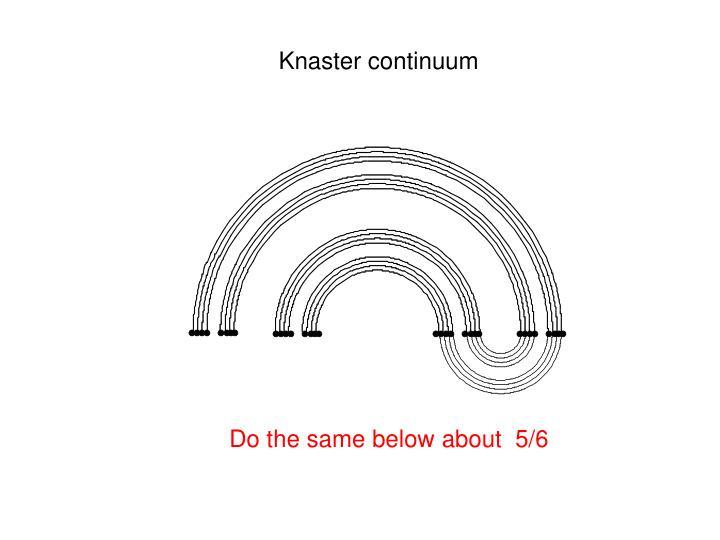 Knaster continuum