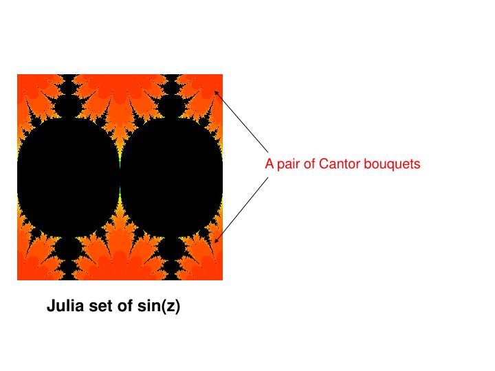 A pair of Cantor bouquets