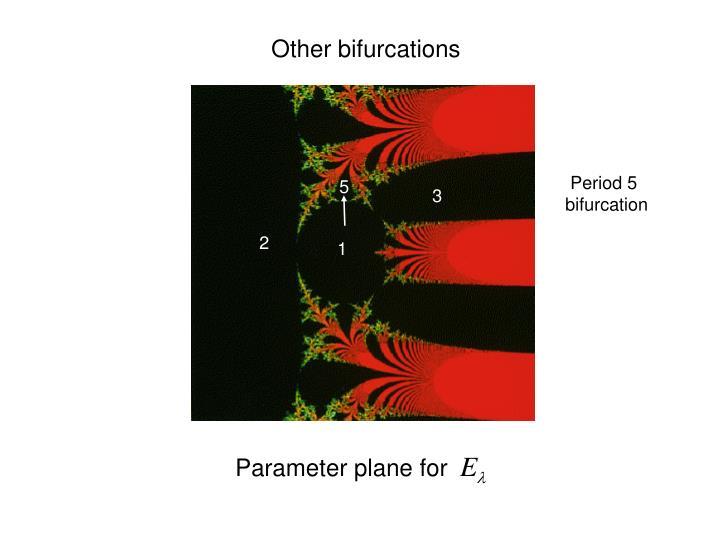 Other bifurcations