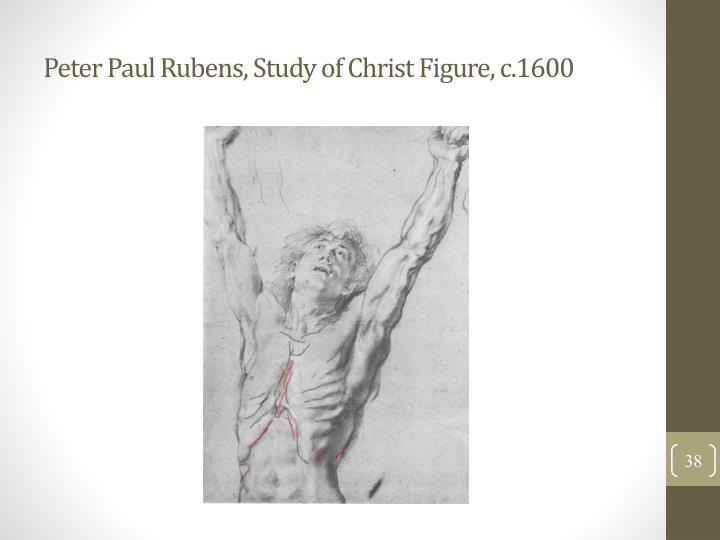 Peter Paul Rubens, Study of Christ Figure, c.1600