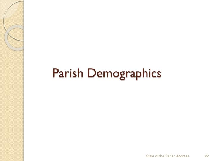 Parish Demographics