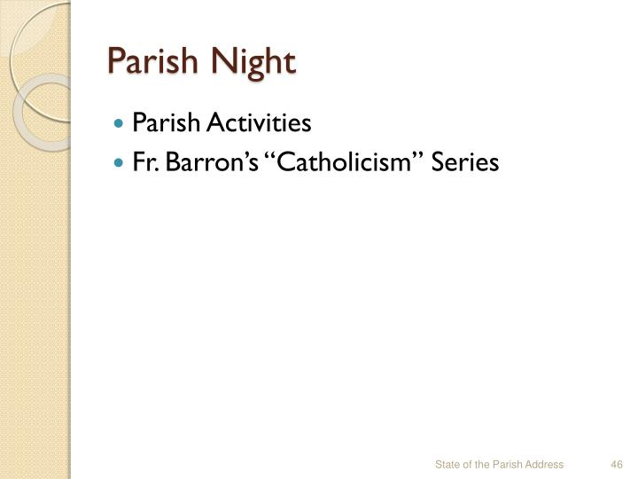 Parish Night