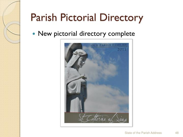 Parish Pictorial Directory