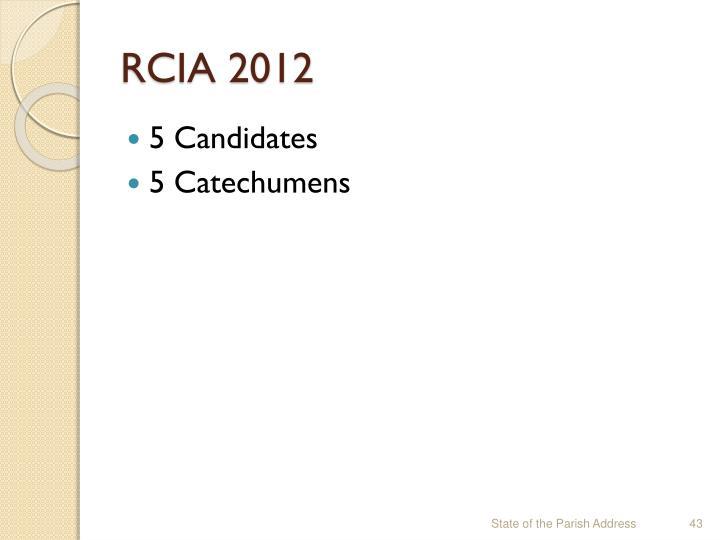 RCIA 2012