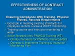 effectiveness of contract administration2